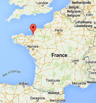 Mont St Michel Climate Average Weather Temperature Precipitation