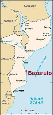 Bazaruto islands, where they are located