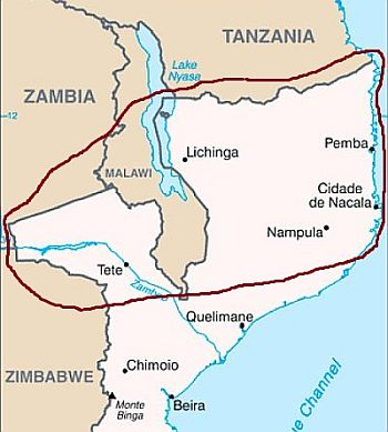North of Mozambique