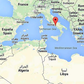 Naples, where it is