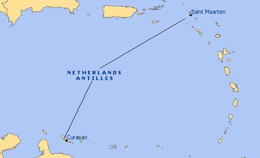 Climate in Netherlands Antilles temperature precipitation when