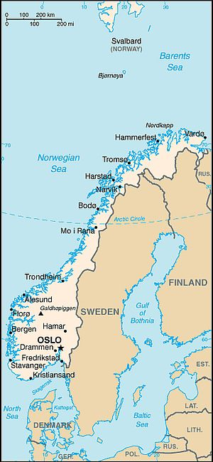 Norway climate: average weather, temperature, precipitation, best time