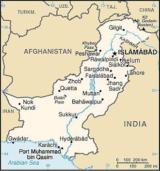 Pakistan climate: average weather, temperature, precipitation, best time