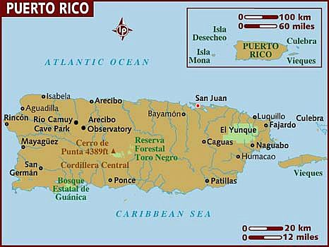 Puerto Rico climate: average weather, temperature, precipitation ...
