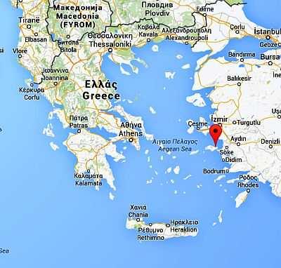 samos island greece map Samos Climate Average Weather Temperature Precipitation Best Time