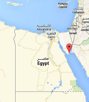 Sharm el-Sheikh, where it is