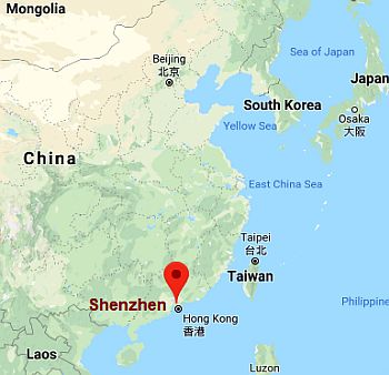 Shenzhen, where it is located