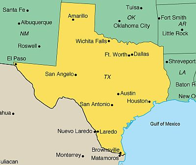 temperature map of texas Texas Climate Average Weather Temperature Precipitation Best Time