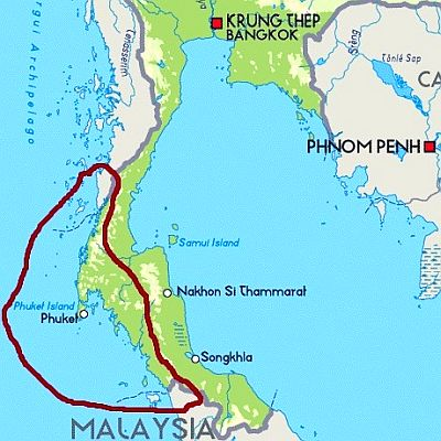 Thailand - coast of the Andaman Sea