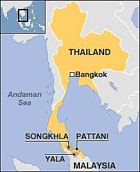 Songkhla where it's located