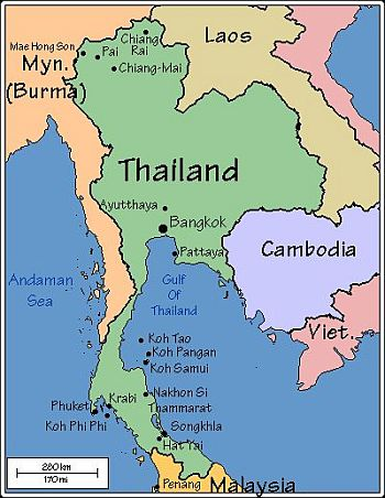 Thailand Weather Map.Thailand Climate Average Weather Temperature Precipitation Best Time