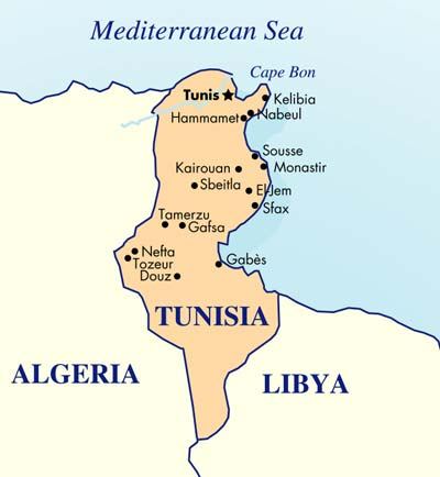 Tunisia climate: average weather, temperature, precipitation