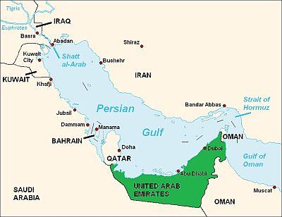 United Arab Emirates climate: average weather, temperature