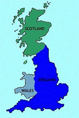 Map Of England Wales Scotland.United Kingdom Climate Average Weather Temperature Precipitation