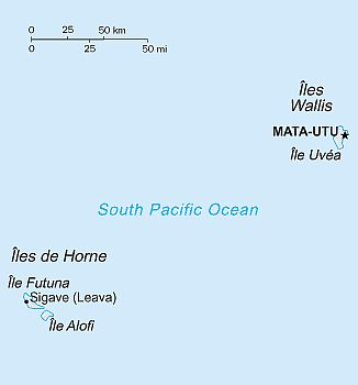 Map - Wallis And Futuna