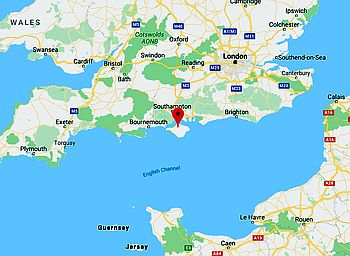 Wight, where it's located