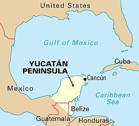 Yucatan climate: average weather, temperature, precipitation, best time