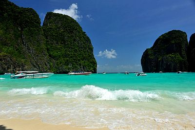 The Beach, Maya Bay, Phi Phi Leh island