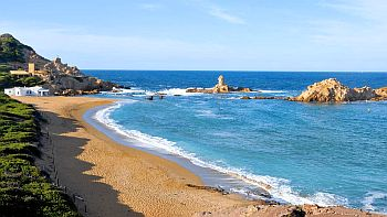Beach in Minorca