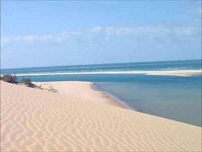 Mozambique, beach