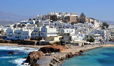 Naxos, old town