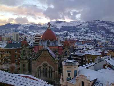 Oviedo under the Snow
