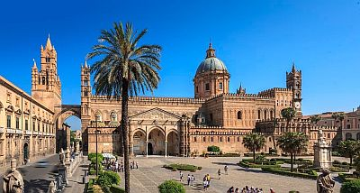 Palermo, the cathedral
