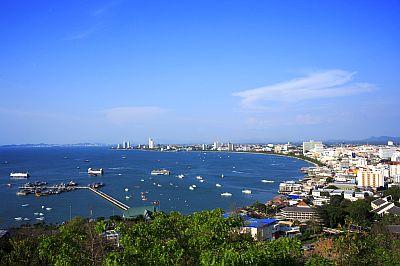 Pattaya, coastline