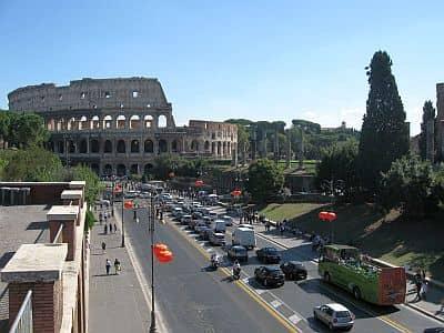 Rome - via dei Fori Imperiali