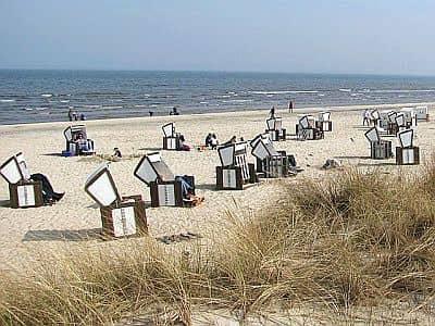 Rostock, beach