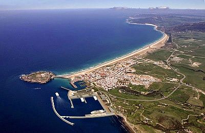 Tarifa from above