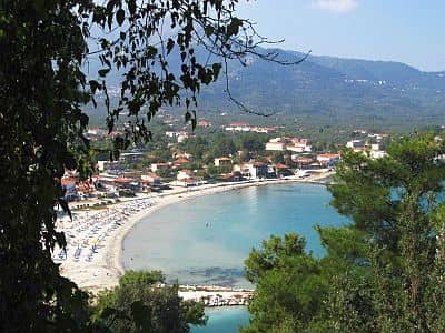Beach in Thasos