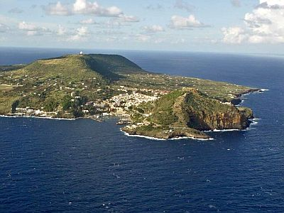 Ustica from above
