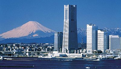 Mount Fuji from Yokohama